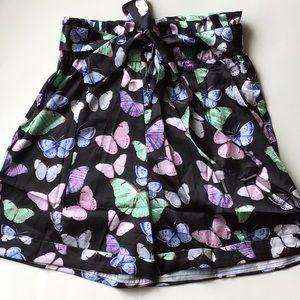 🔹 2/20$ PLT Butterfly Satin Shorts